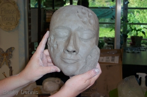 Clay Mask-making Playshop