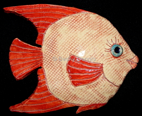 Red Kissy Fish