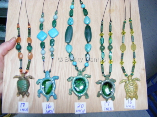 Assorted Turtle Necklaces