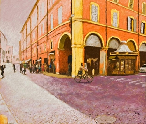 A Street in Italy, Modena