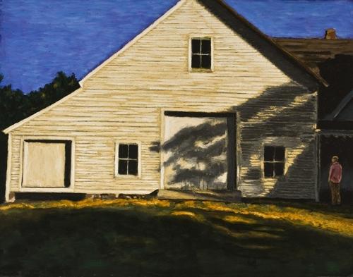 Barn in Morning Sun