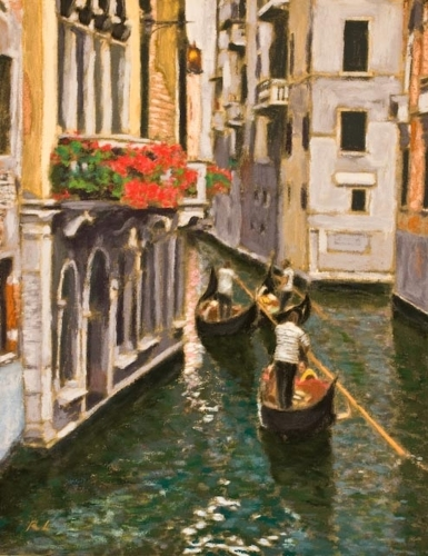 Canal Life, Venice