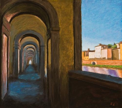 Below The Vasari Corridor, Florence