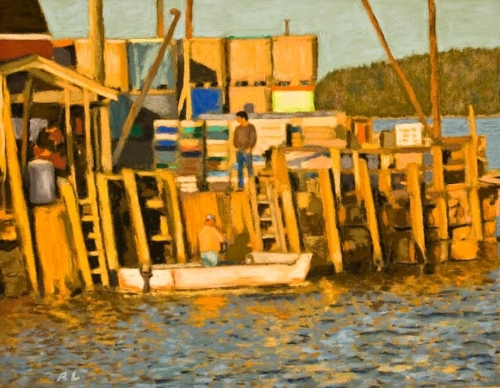The Lobster Dock, Stonington, Maine