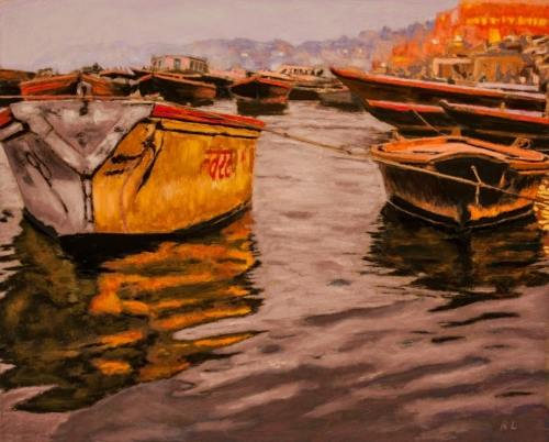Evening, The Ganges, Varanasi
