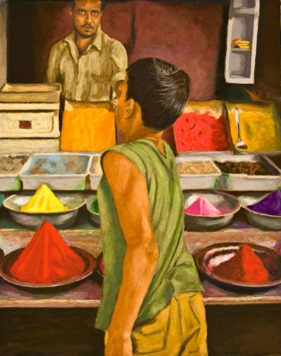 The Powder Seller