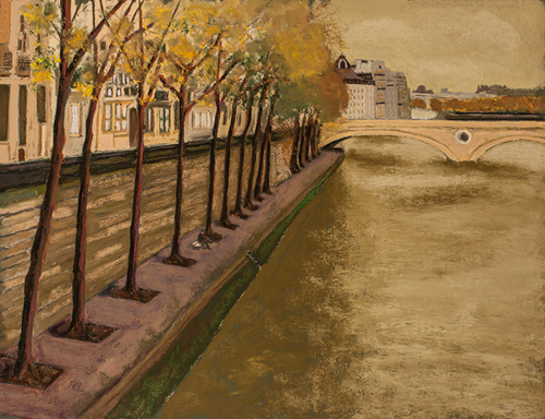 Contemplation, The Seine