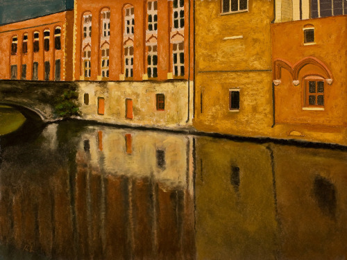 Bruges, Canal Reflections