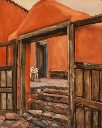 An Artist's Studio, Santa Fe