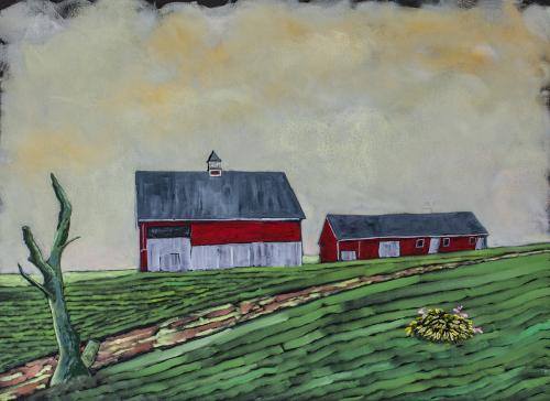 Two Barns, Prince Edward Island