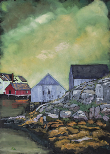 Looking Out to Sea, Peggy's Cove, Nova Scotia