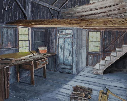 Alvaro's Workshop, The Olson House