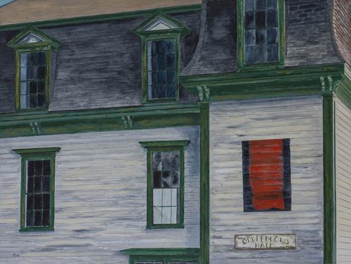 Homage: Barnett Newman, Achilles 1952