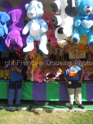 Canadian Carnival Workers and Teddies