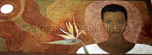 ALI'S GIRL by Adrienne Patel Fine Art