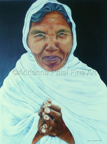 Namaste by Adrienne Patel Fine Art