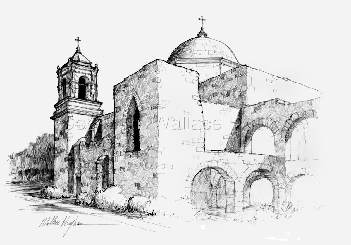San Jose Mission (large view)