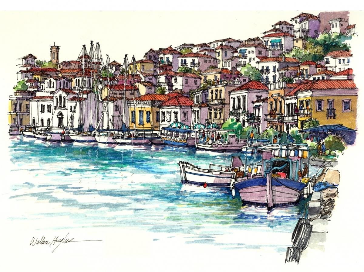 Poros, Greece (large view)