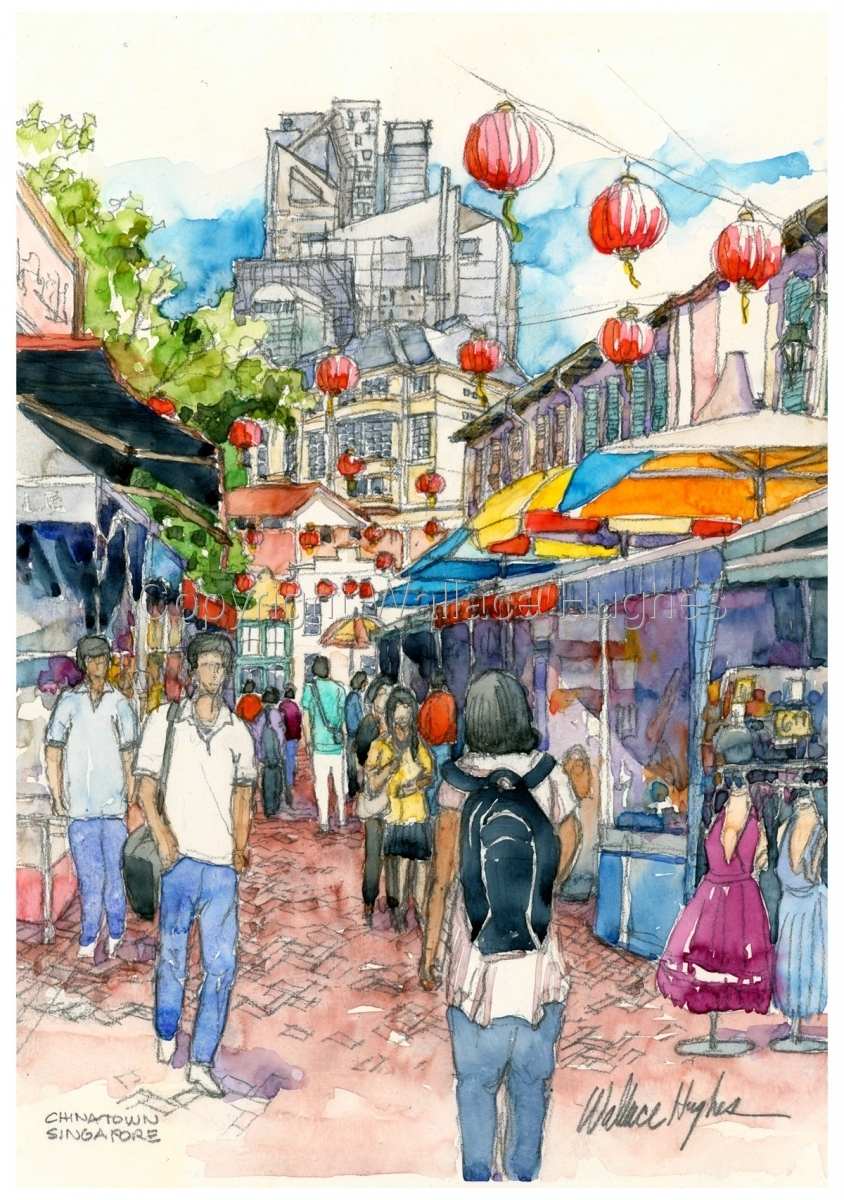Chinatown, Singapore (large view)