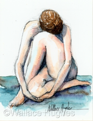 Nude 3 by Wallace Hughes