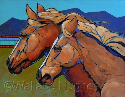 Dos Caballos by Wallace Hughes