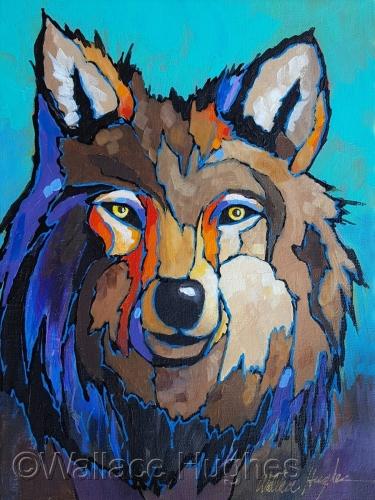 El Lobo Numero Uno by Wallace Hughes