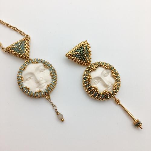 Caribbean Moon Handmade Necklace