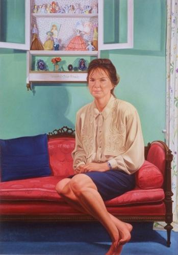 Portrait of Linda F.