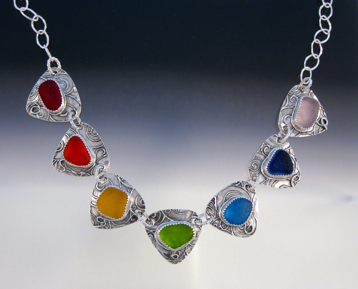 7 Chakra Necklace (large view)
