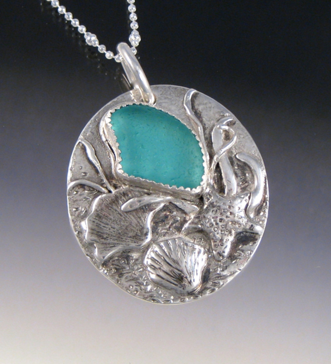 day special pendants your art jewelry a order the pendant found custom at of by beach objects sea