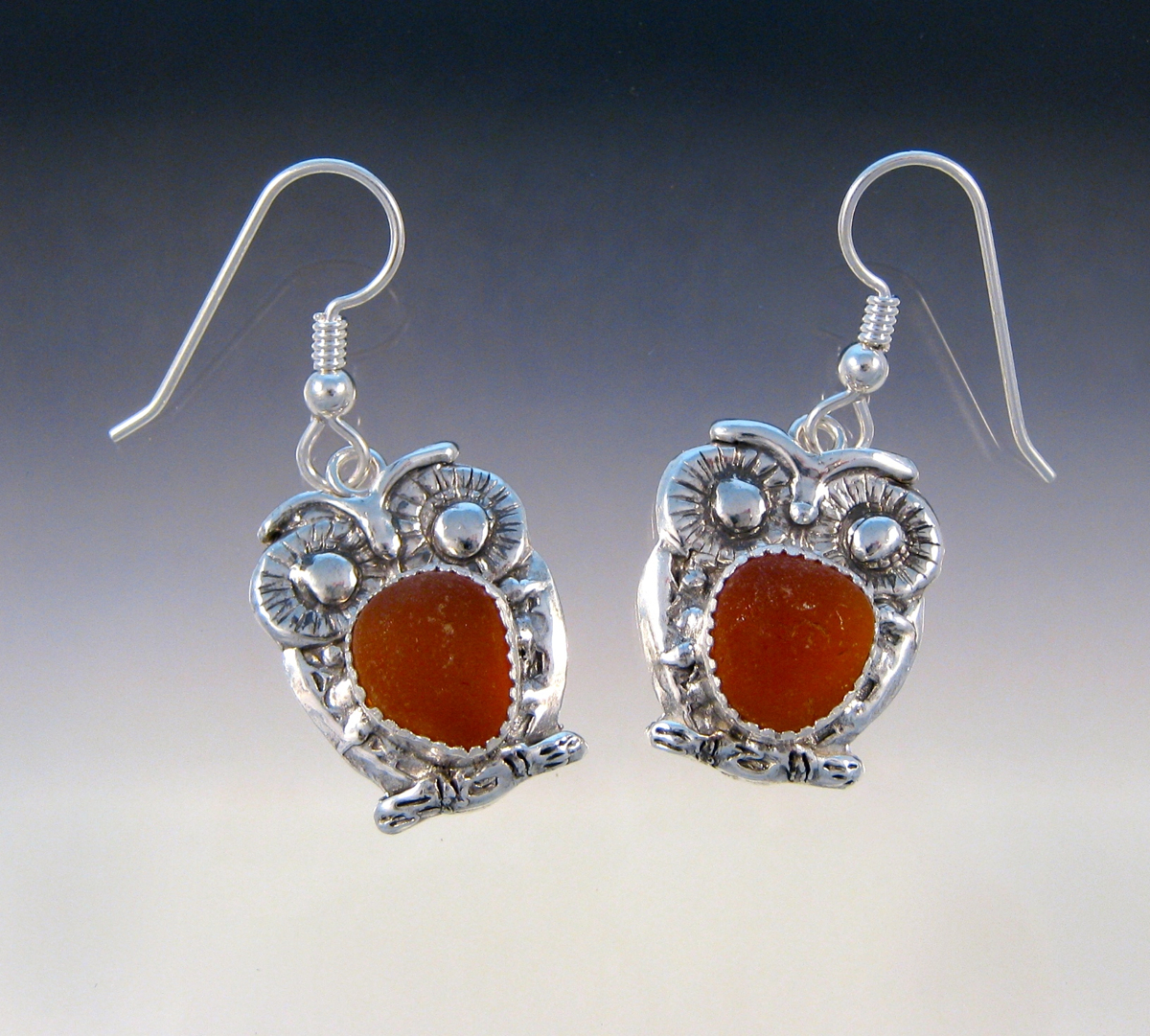Owl Earrings (large view)