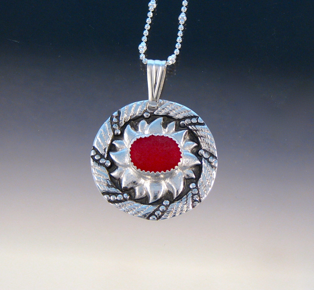 P5273 - Ring of fire pendant (large view)