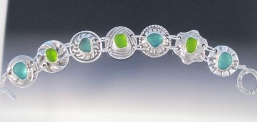 Kim's Grandma's Button Bracelet