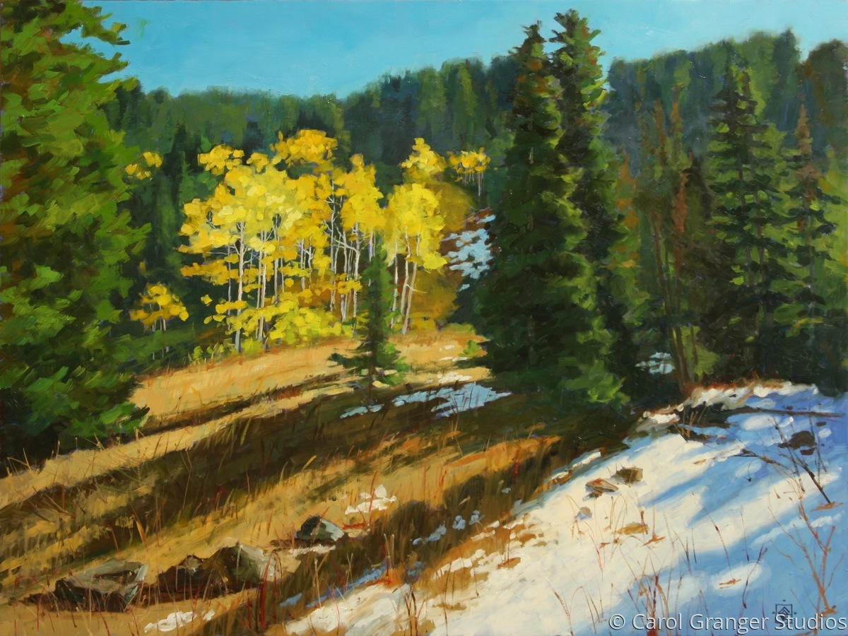 First Snow, Big Cottonwood Canyon (large view)