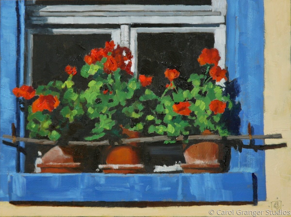 French Geraniums (large view)