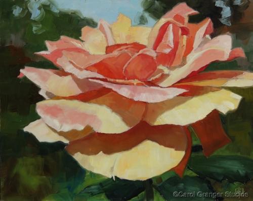 Park of Roses #4 by Carol Granger Studios