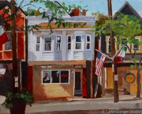 Cleveland's Little Italy by Carol Granger Studios