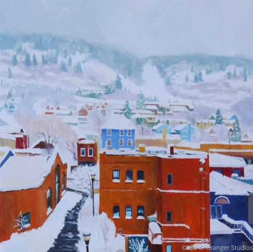 Snowy Day in Park City