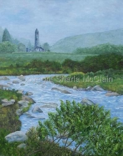 """""""Fliuch Agus Iontach"""", Glendalough, Ireland"""