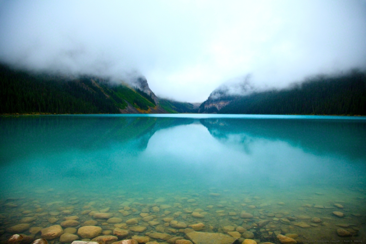 'Clouds, Lake Louise' by Bibbins (large view)