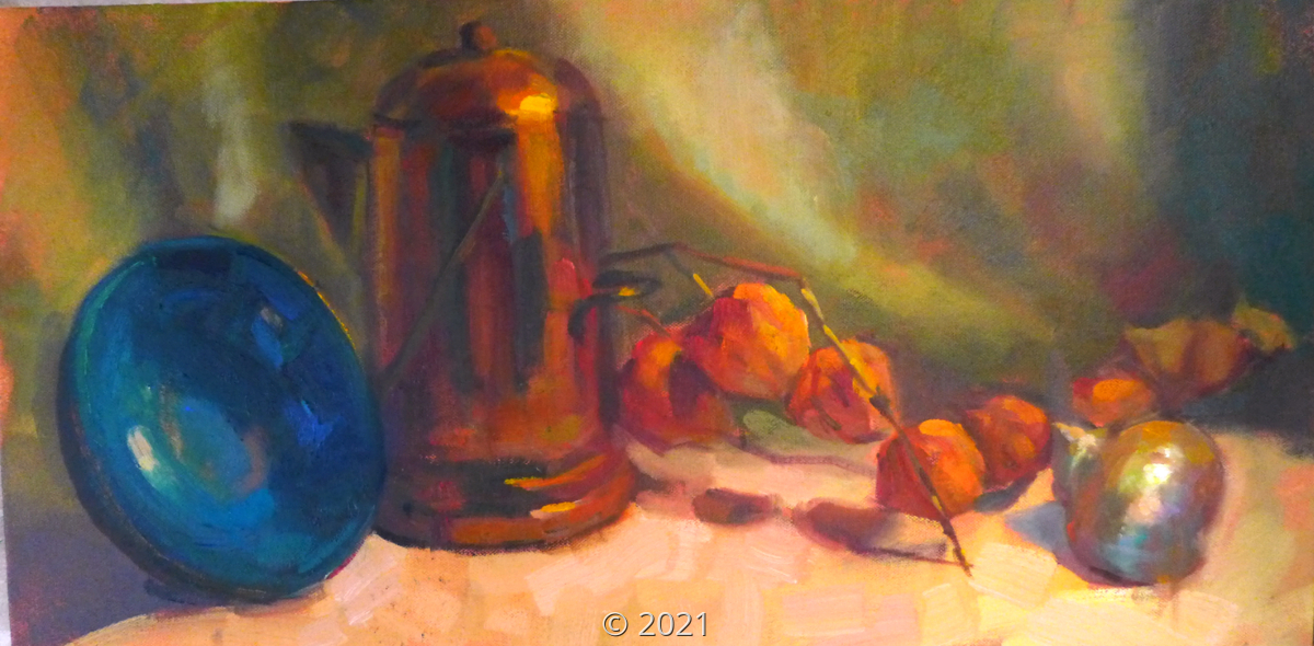 'Still Life with One Shell' by Sorg (large view)