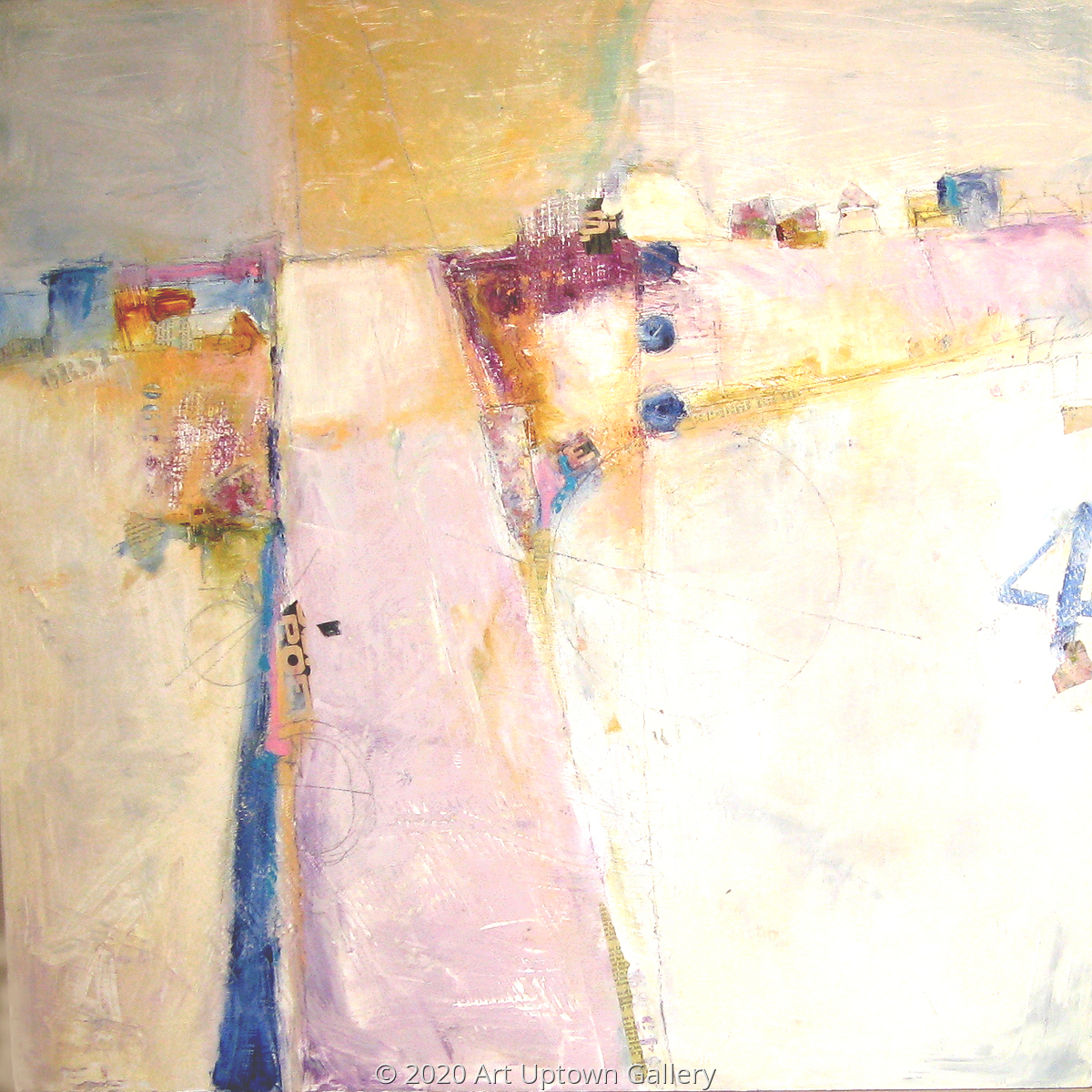 'LANDSCAPE No. 4' by Krasner (large view)