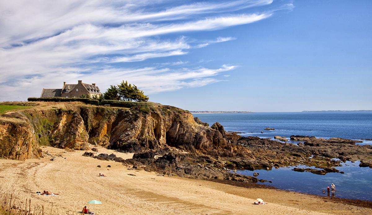 'Beach La Pouldu' by Bibbins (large view)