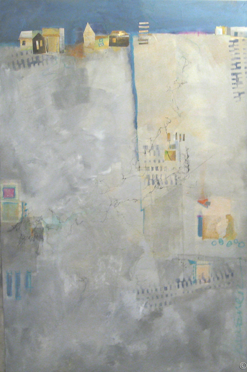 'A VILLAGE' by Krasner (large view)