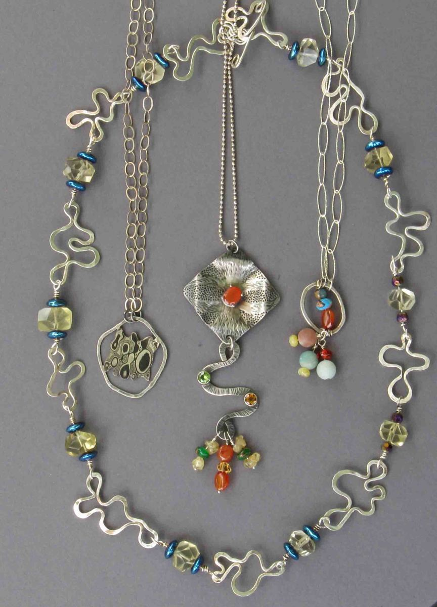 'Mixed necklaces' by Flam Corin (large view)