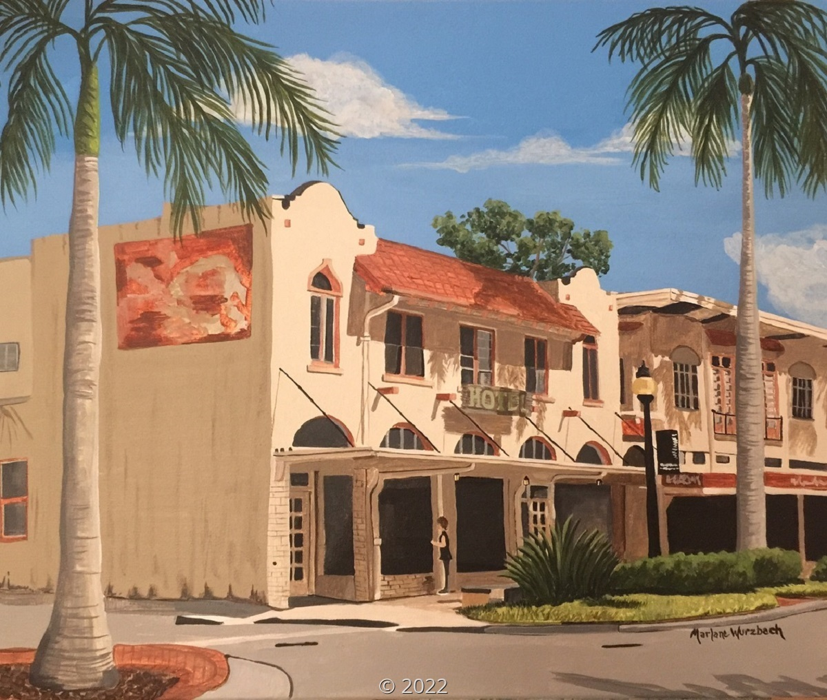 'Preserving Sarasota's DeMarcay Hotel' by Wurzbach (large view)