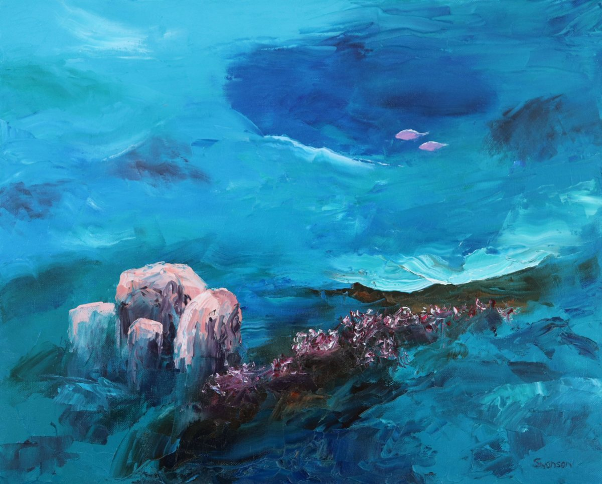 'Coral Reef 14' by Swanson (large view)
