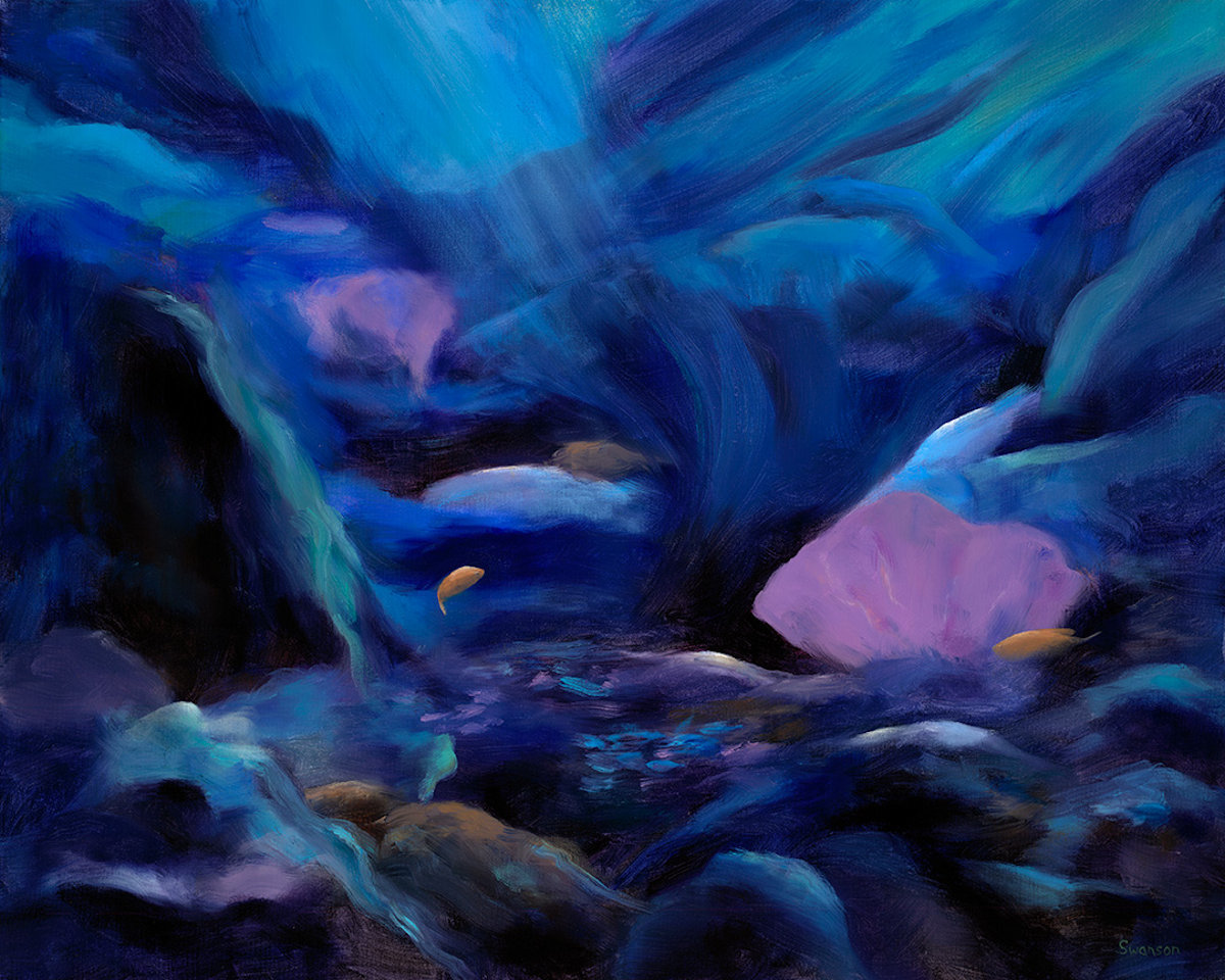 'Coral Reef 7' by Swanson (large view)
