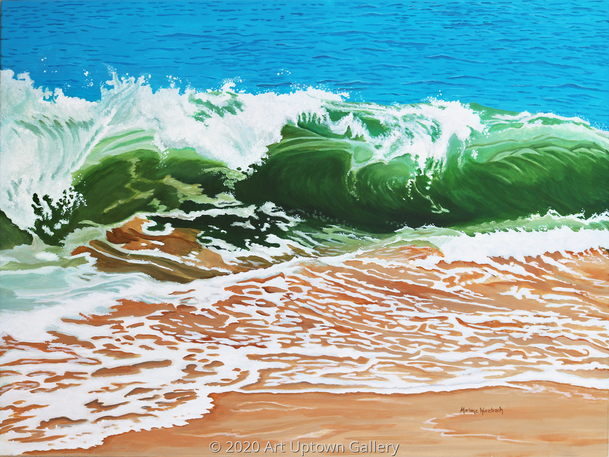 'Surf Meets Sand' by Wurzbach (large view)