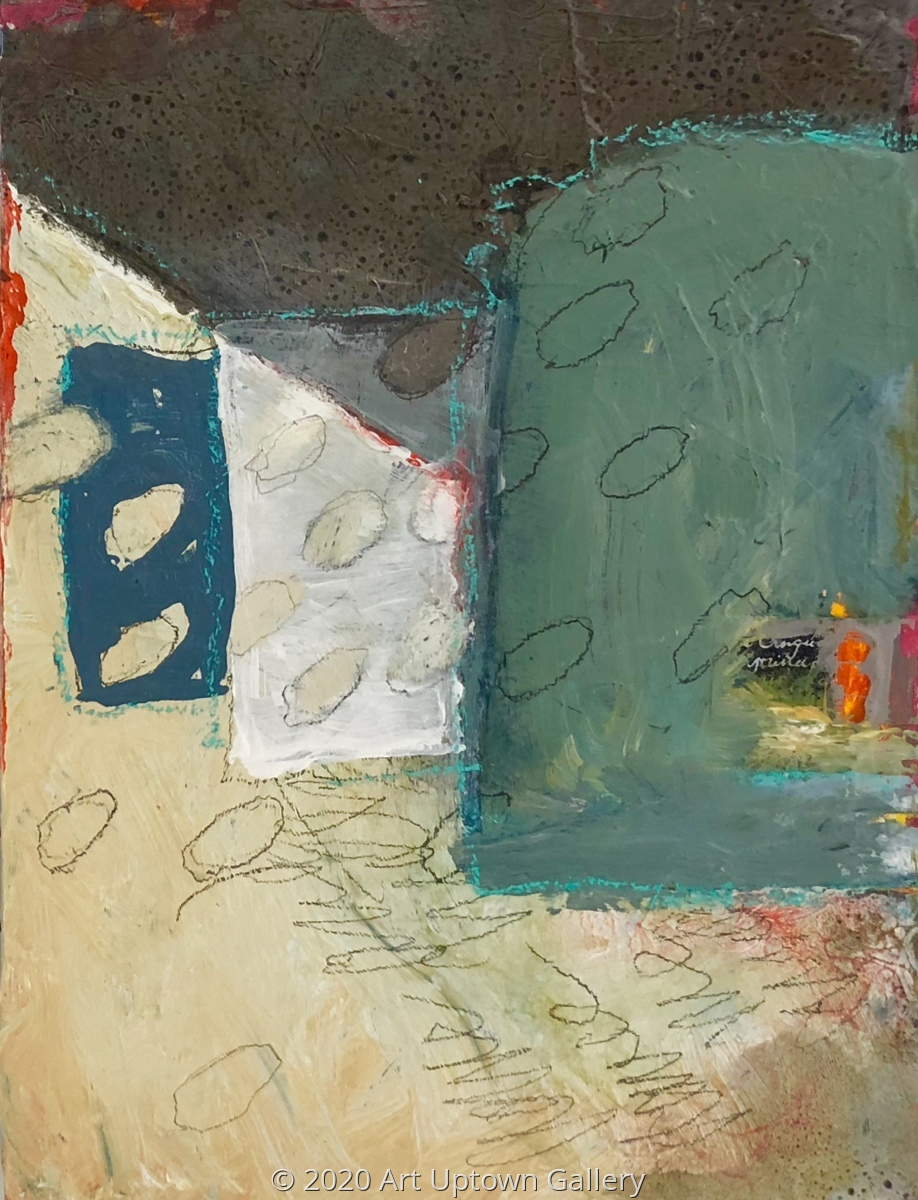 "'House Series No 3"" by Krasner (large view)"